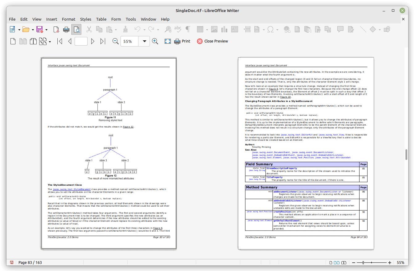 Flexdoc Javadoc Javadocclassic Samples