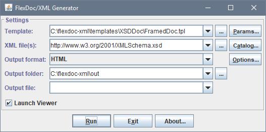 FlexDoc/XML - Oxygen XML Integration